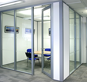 Aluminium-Partition
